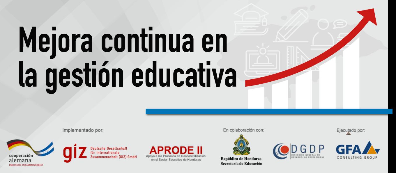 Mejora continua en la gestión educativa